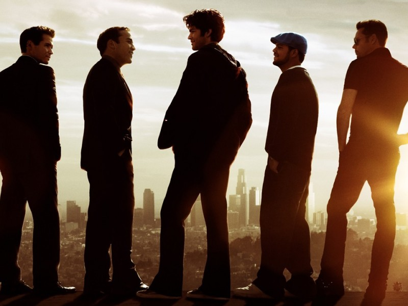 Kevin Connolly, Jeremy Piven, Adrian Grenier, Jerry Ferrara and Kevin Dillon in Entourage