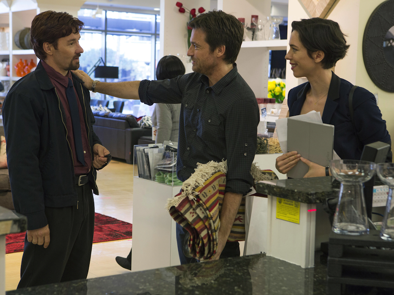 Joel Edgerton, Jason Bateman and Rebecca Hall in The Gift