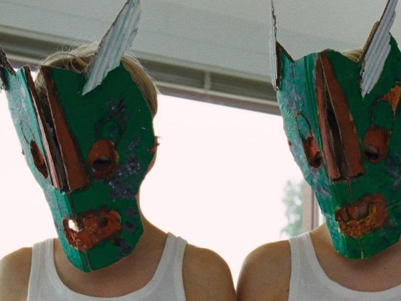 Elias Schwarz and Lukas Schwarz in Goodnight Mommy