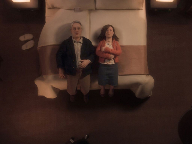 David Thewlis and Jennifer Jason Leigh in Anomalisa