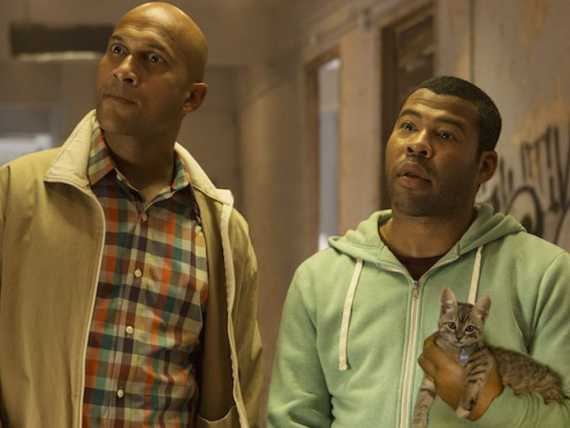 Keegan-Michael Key and Jordan Peele in Keanu