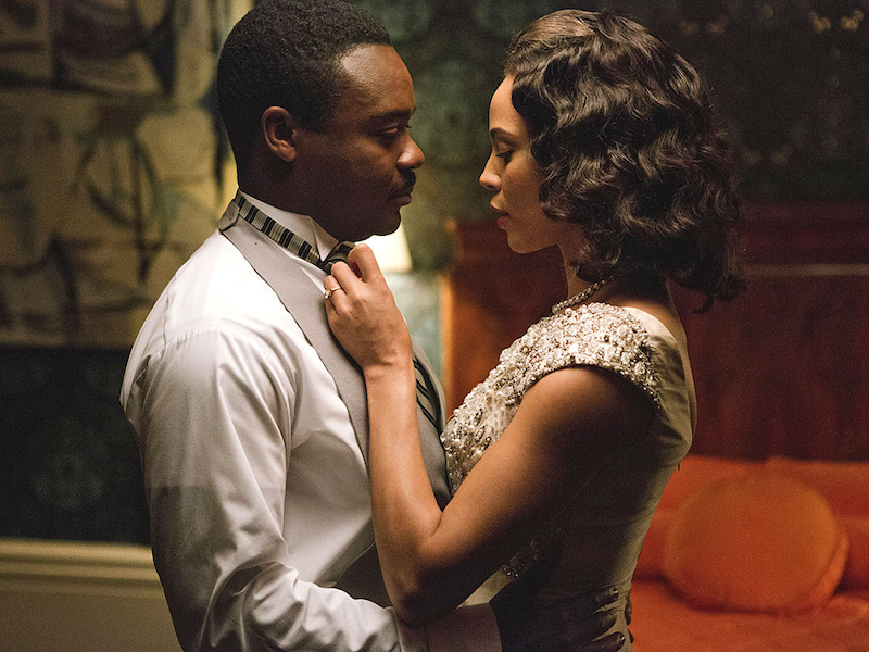 David Oyelowo and Carmen Ejogo in Selma