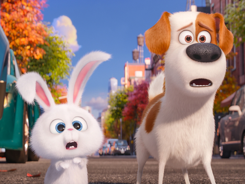 Kevin Hart and Louis C.K. in The Secret Life Of Pets