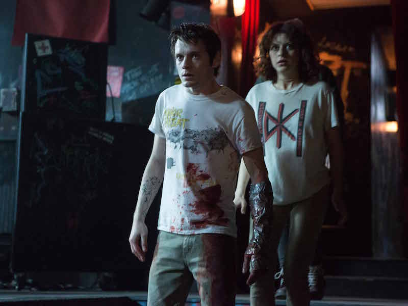 Anton Yelchin and Alia Shawkat in Green Room